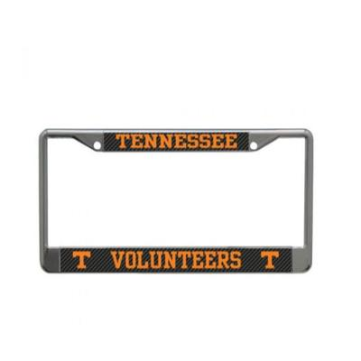 Tennessee Carbon Fiber Logo License Plate Frame
