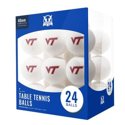 Virginia Tech Table Tennis Balls