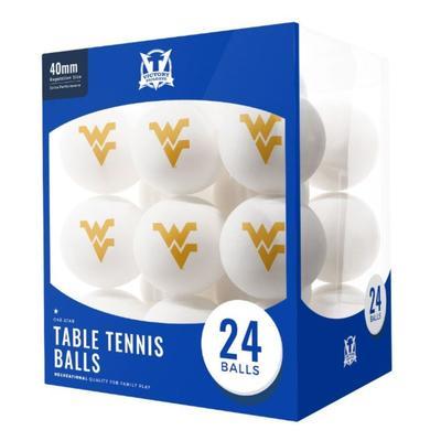 West Virginia Table Tennis Balls