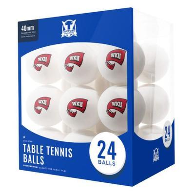 Western Kentucky Table Tennis Balls