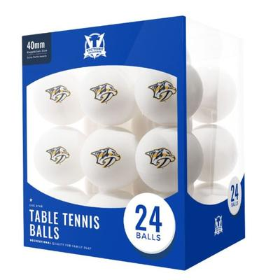 Nashville Predators Table Tennis Balls