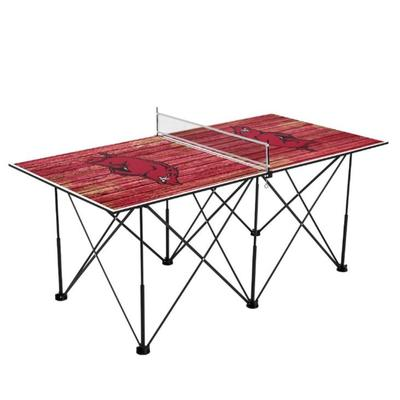 Arkansas Pop-Up Portable Table Tennis Table