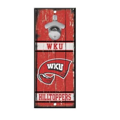 Western Kentucky Wall Mount Bottle Opener