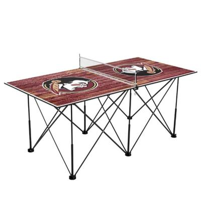 Florida State Pop-Up Portable Table Tennis Table