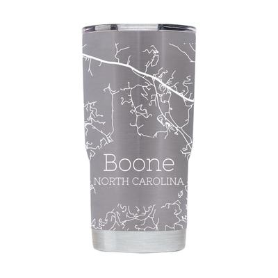 Boone State 20 oz Full Wrap Map Tumbler