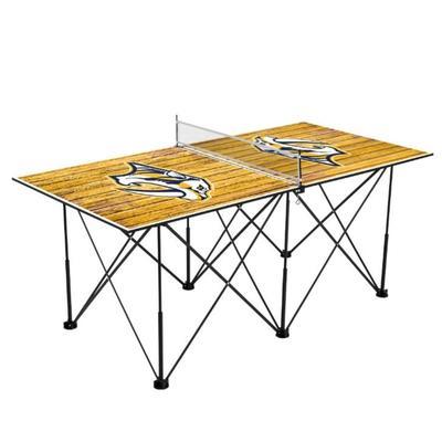 Nashville Predators Pop-Up Portable Table Tennis Table