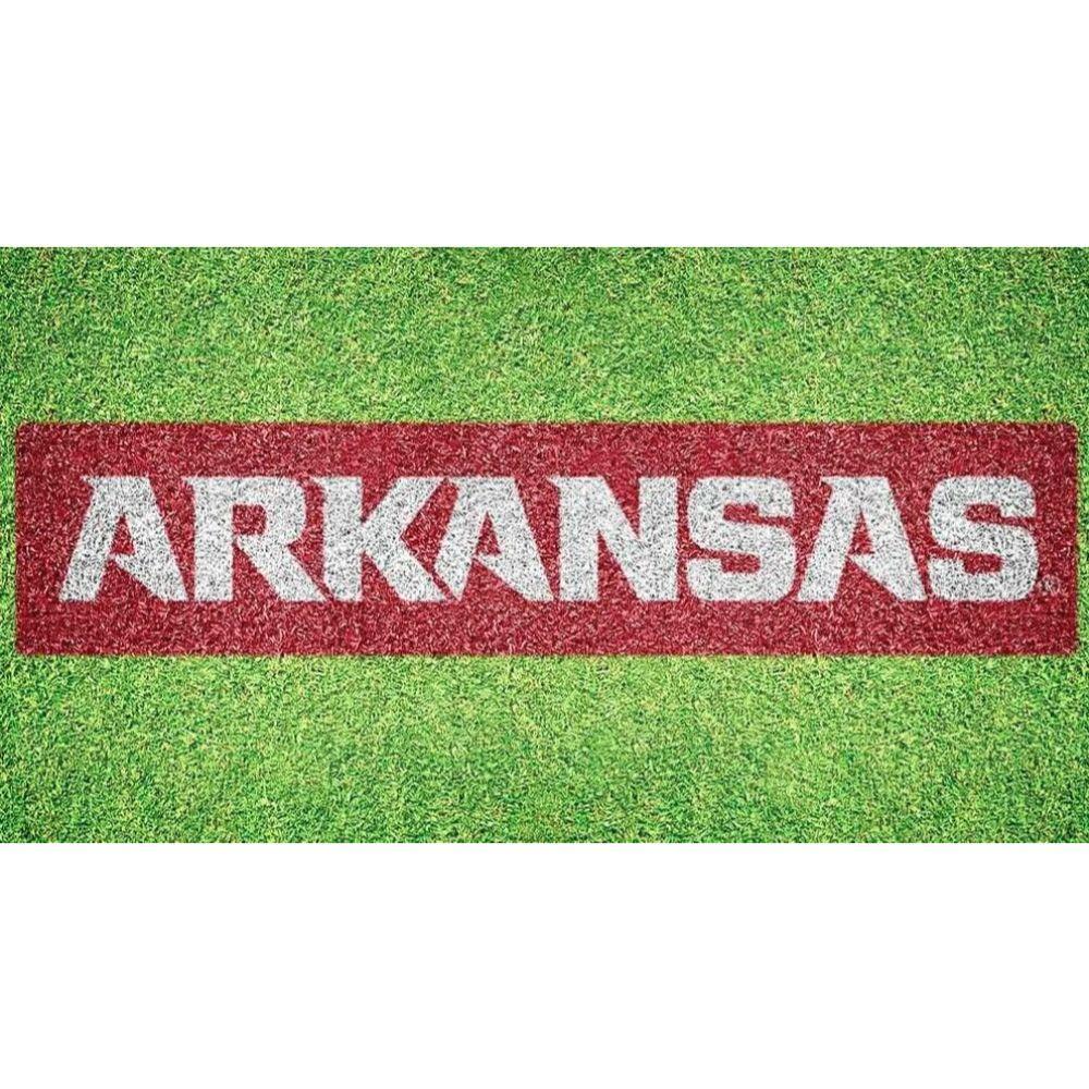 Arkansas Wordmark Lawn Stencil Kit