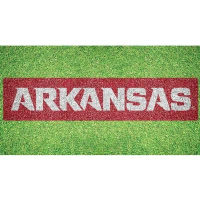 Arkansas Wordmark Lawn Stencil Kit