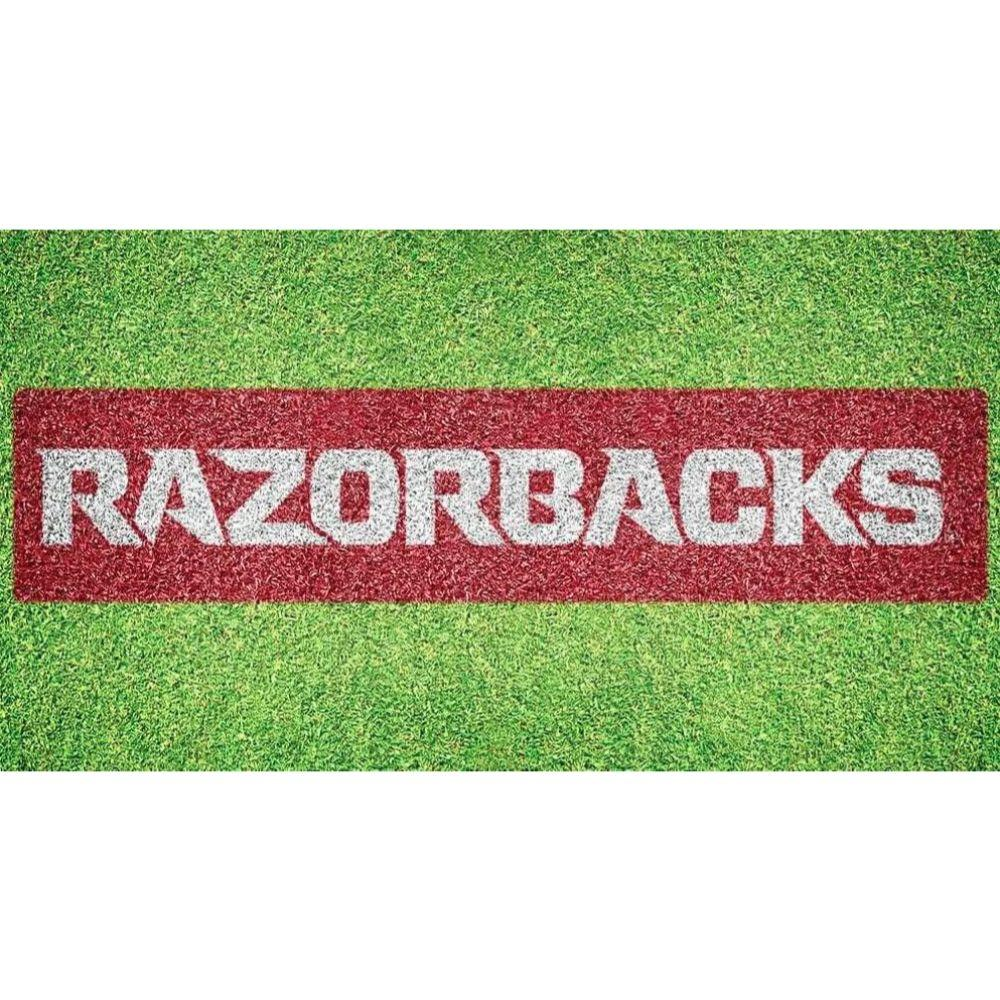 Arkansas Razorbacks Wordmark Lawn Stencil Kit