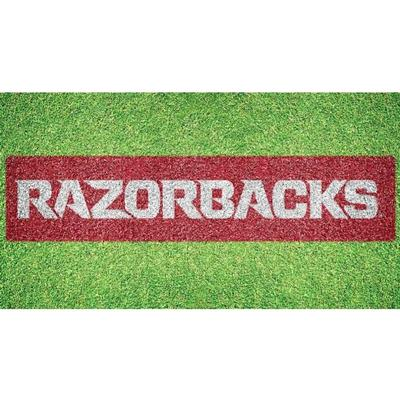 Arkansas Razorbacks Wordmark Lawn Stencil Kit
