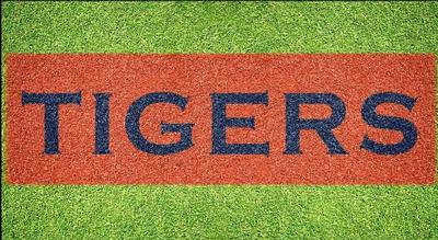 Auburn Tigers Wordmark Lawn Stencil Kit