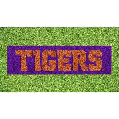 Clemson Tigers Wordmark Lawn Stencil Kit