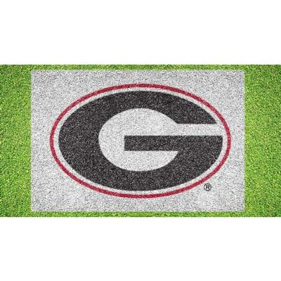 Georgia Logo Lawn Stencil Kit