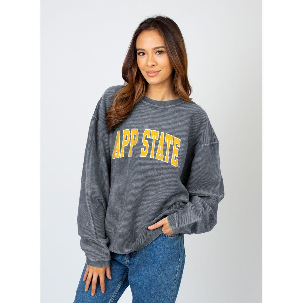 Appalachian State Chicka- D Women's Tall Outline Arc Corded Sweatshirt