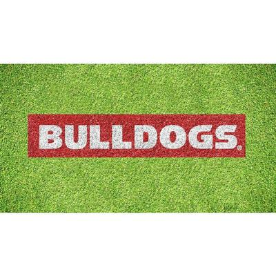 Georgia Bulldogs Wordmark Lawn Stencil Kit