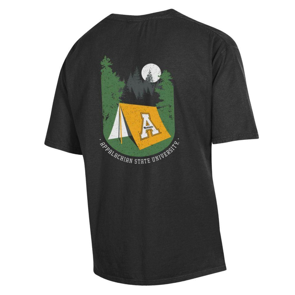 Appalachian State Tent Short Sleeve Comfort Colors Tee