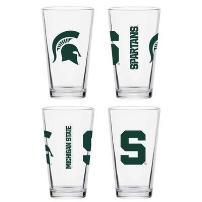 Michigan State 16 oz Core Pint Glass
