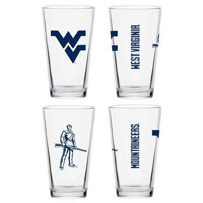 West Virginia 16 oz Core Pint Glass