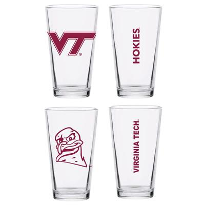 Virginia Tech 16 oz Core Pint Glass