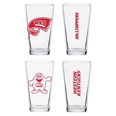 Western Kentucky 16 oz Core Pint Glass