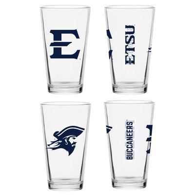 ETSU 16 oz Core Pint Glass