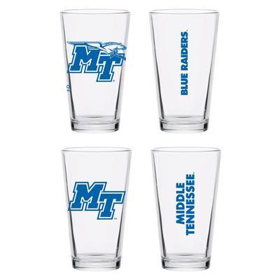 MTSU 16 oz Core Pint Glass