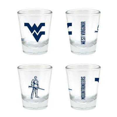 West Virginia 2 oz Core Shot Glass
