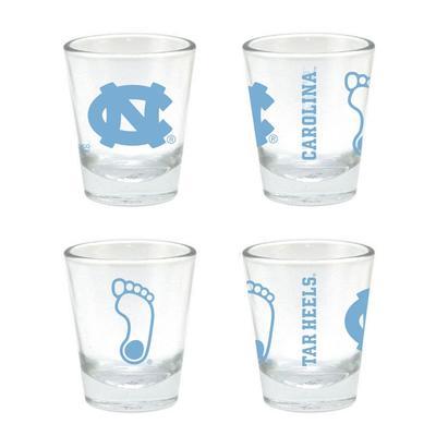 UNC 2 oz Core Shot Glass