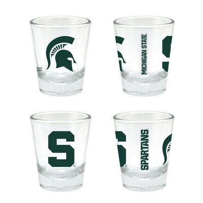 Michigan State 2 oz Core Shot Glass