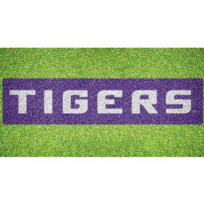 LSU Tigers Wordmark Lawn Stencil Kit