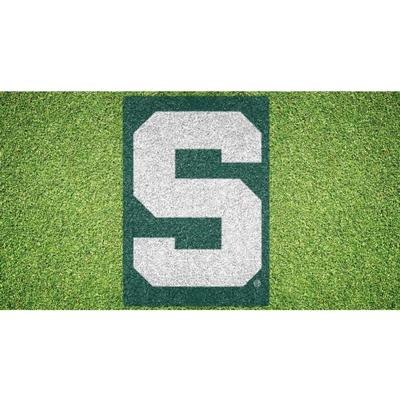 Michigan State S Logo Lawn Stencil Kit