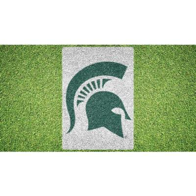 Michigan State Helmet Lawn Stencil Kit