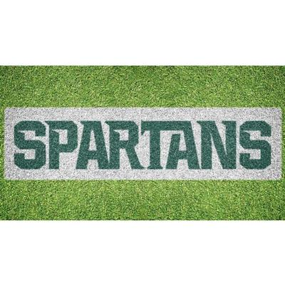 Michigan State Spartans Wordmark Lawn Stencil Kit