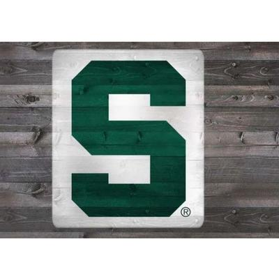 Michigan State S Logo Stencil Kit