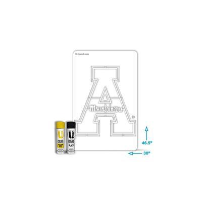 Appalachian State Stencil Kit