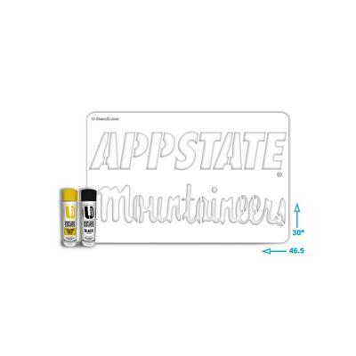 Appalachian State Combo Stencil Kit