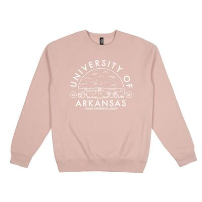 Arkansas Uscape Heavyweight Crew Voyager Sweatshirt