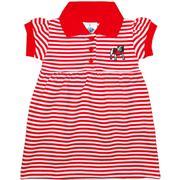 Georgia Infant Striped Game Day Dress