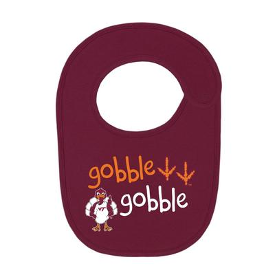 Virginia Tech Gobble Gobble Infant Bib