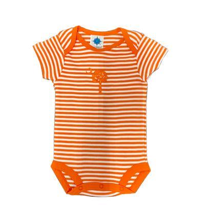 Clemson Striped Infant Onesie