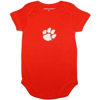 Clemson Solid Infant Onesie