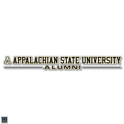 Appalachian State University Alumni Decal 20