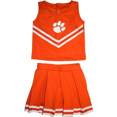 Clemson Toddler Cheerleader Outfit
