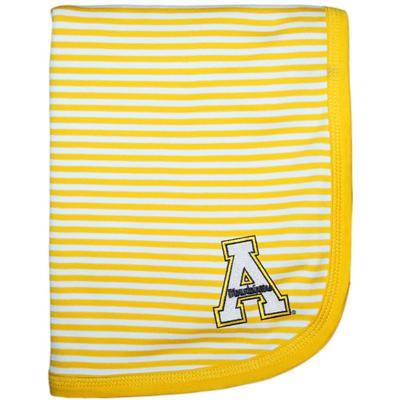 Appalachian State Creative Knitwear Baby Blanket