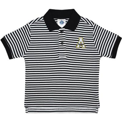 Appalachian State Toddler Striped Polo