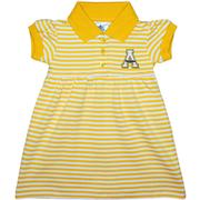 Appalachian State Infant Striped Game Dress With Bloomers