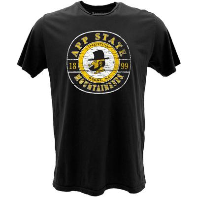 Appalachian State Roundabout App State Short Sleeve Vintage Tee