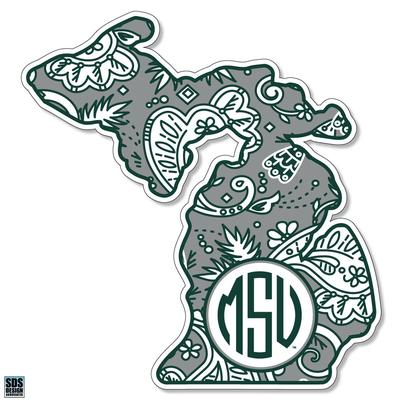 Michigan State Paisley 6