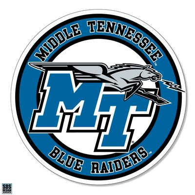 MTSU Blue Raiders Circle 6