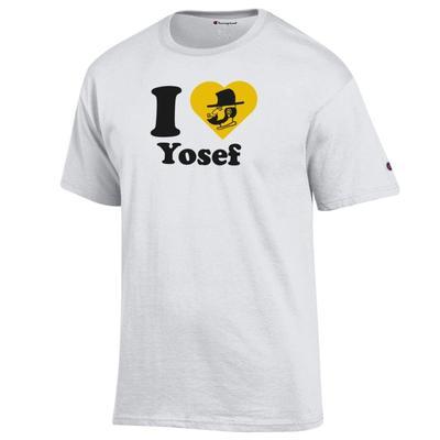 Appalachian State Champion I Love Yosef Tee